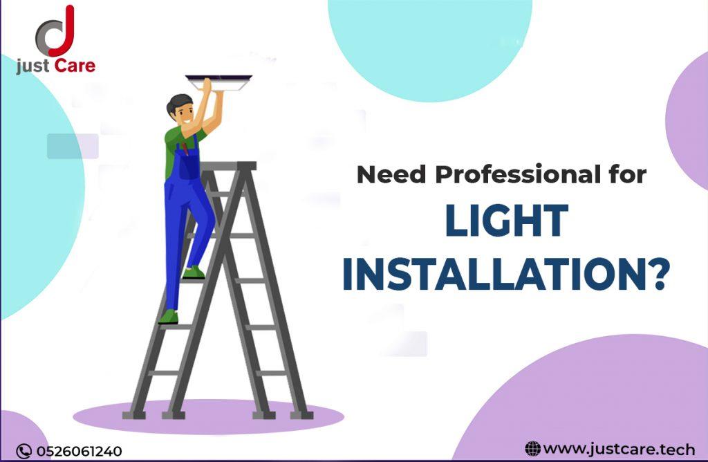 Light Installation Service in Dubai