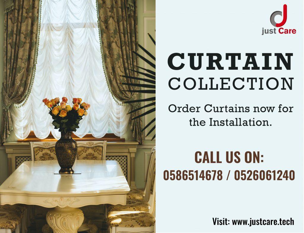Curtain Fixing Dubai | Curtain and Blind Installation Service in Dubai