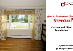 Curtains Installation Dubai | Curtain and Blind Installation Service in Dubai