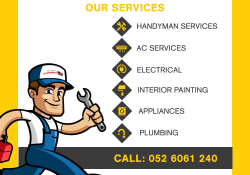 Handyman in Dubai | Professional Handyman Services Dubai
