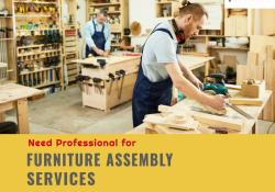 Furniture Assembly Services in Dubai Handyman in Dubai