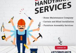Book Maintenance Company for Handyman Services in Dubai