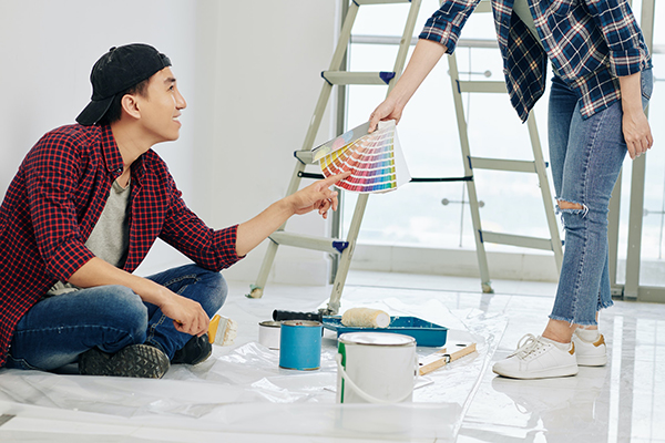 2 BHK FLAT-With Paint
